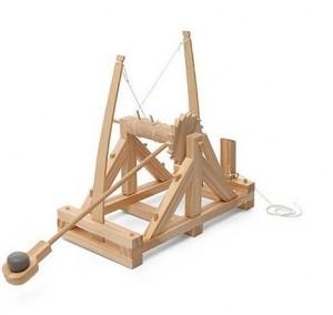 maqueta catapulta Leonardo