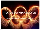 Top 10 olympians